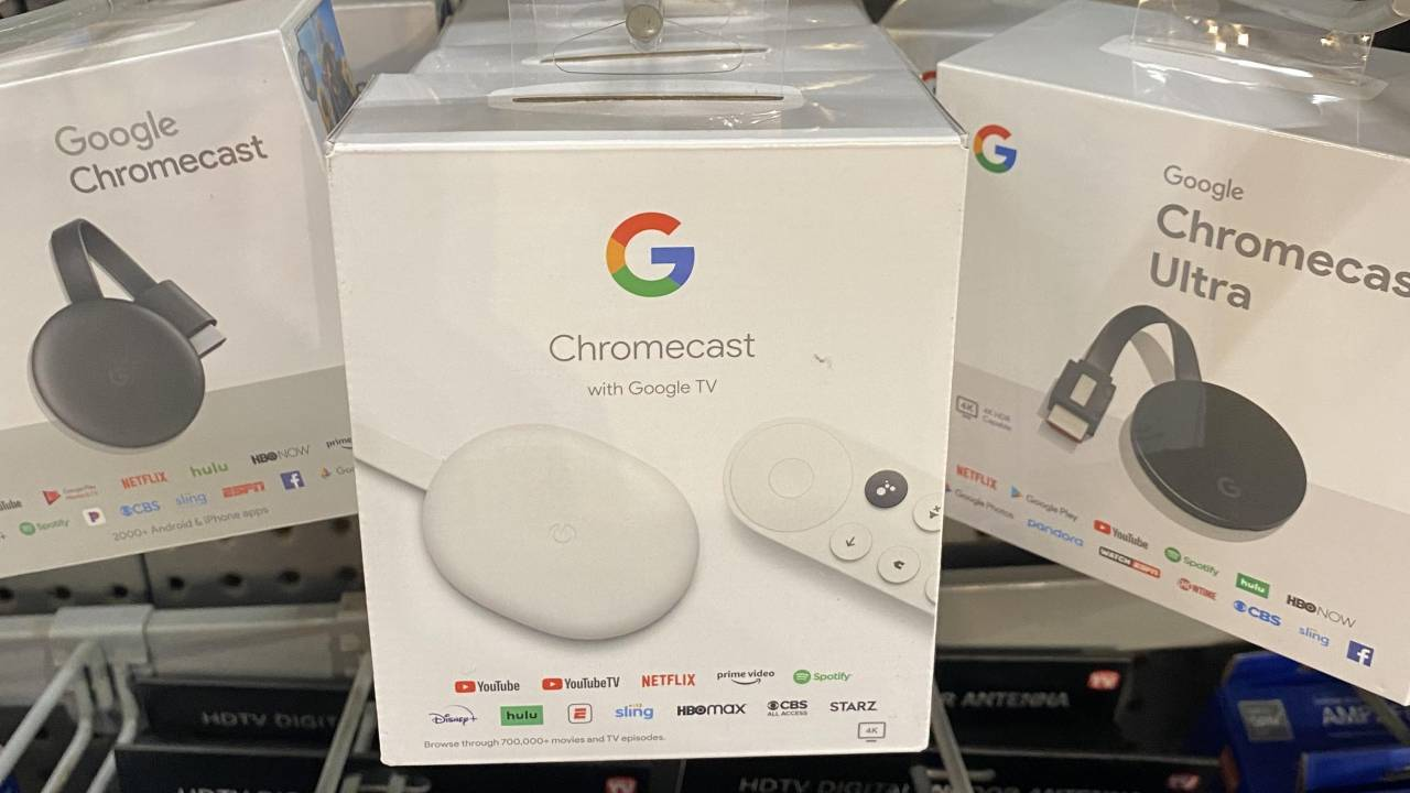 Chromecast with Google TV already being sold ahead of announcement