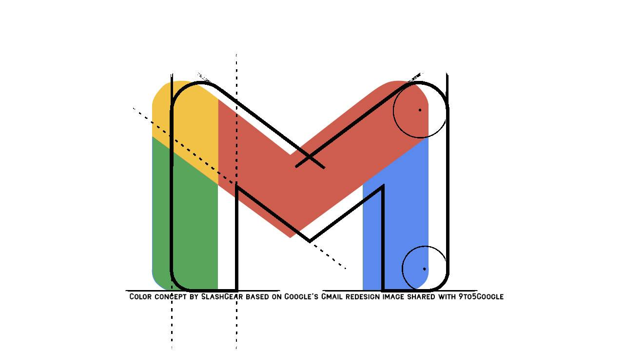 Gmail logo change drops the envelope