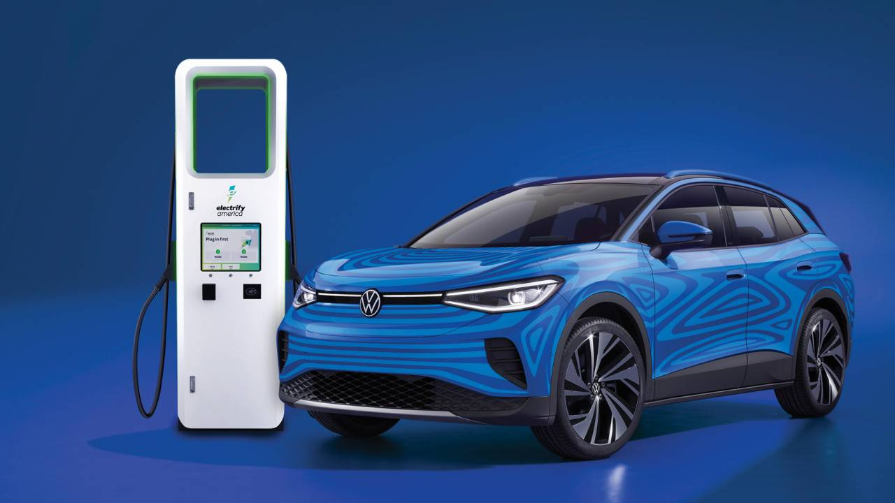 2021 VW ID.4 promises free charging in US