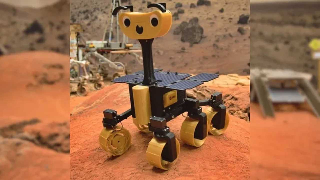 ExoMy DIY Rover lets you build your own Mars exploration machine