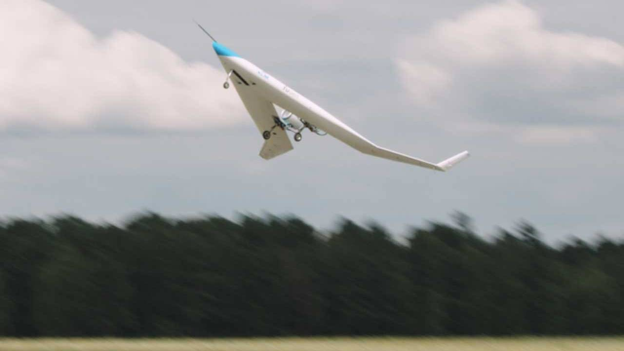Flying-V drone aircraft conducts its first successful test flight