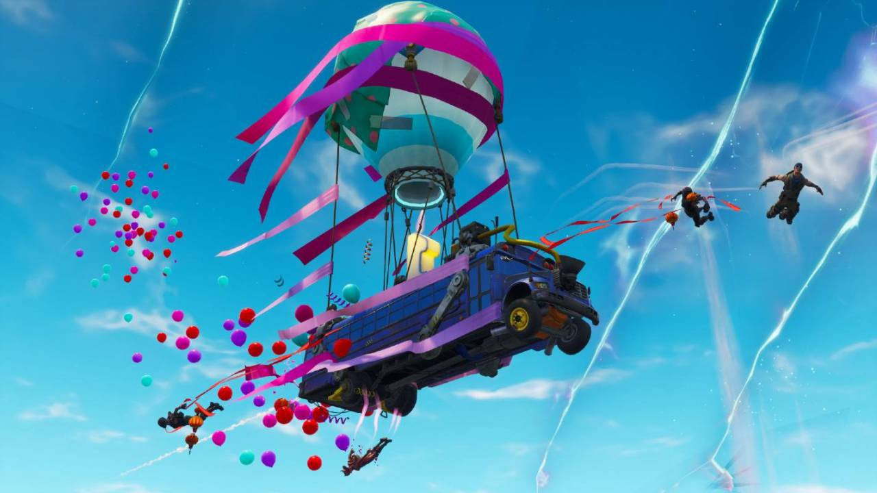Fortnite's third birthday bash leak reveals special weapon wraps