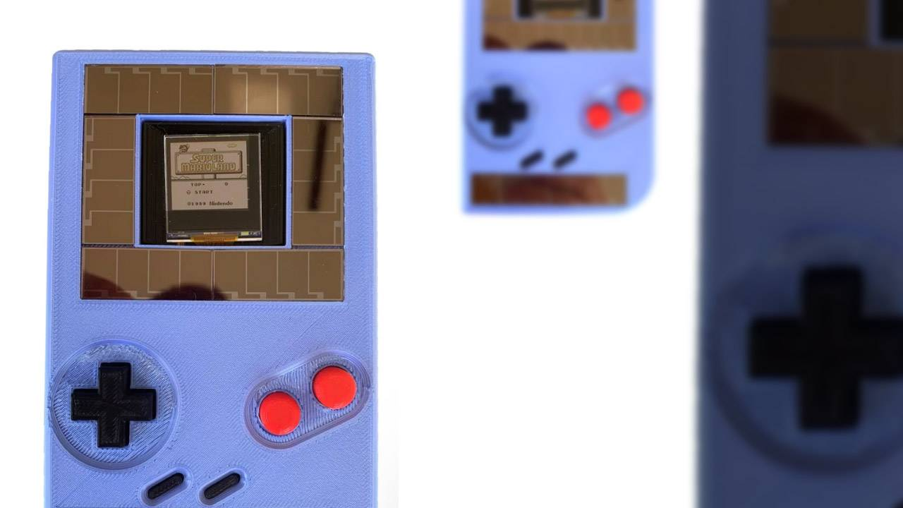 Solar power Game Boy could change the gaming industry