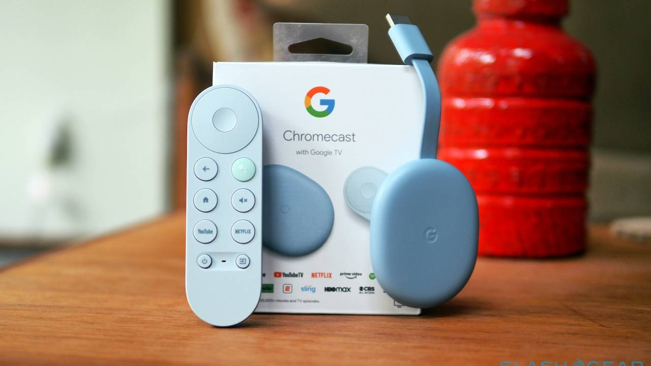 New Chromecast with Google TV Hands On – Assistant voice remote and 4K