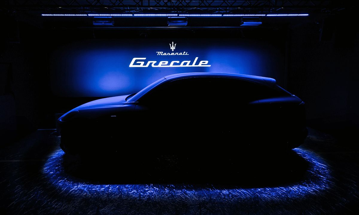 Maserati Grecale: Teaser photo of new Maserati SUV revealed