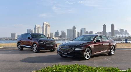 2021 Genesis GV80 and G80 both all-new luxury vehicles