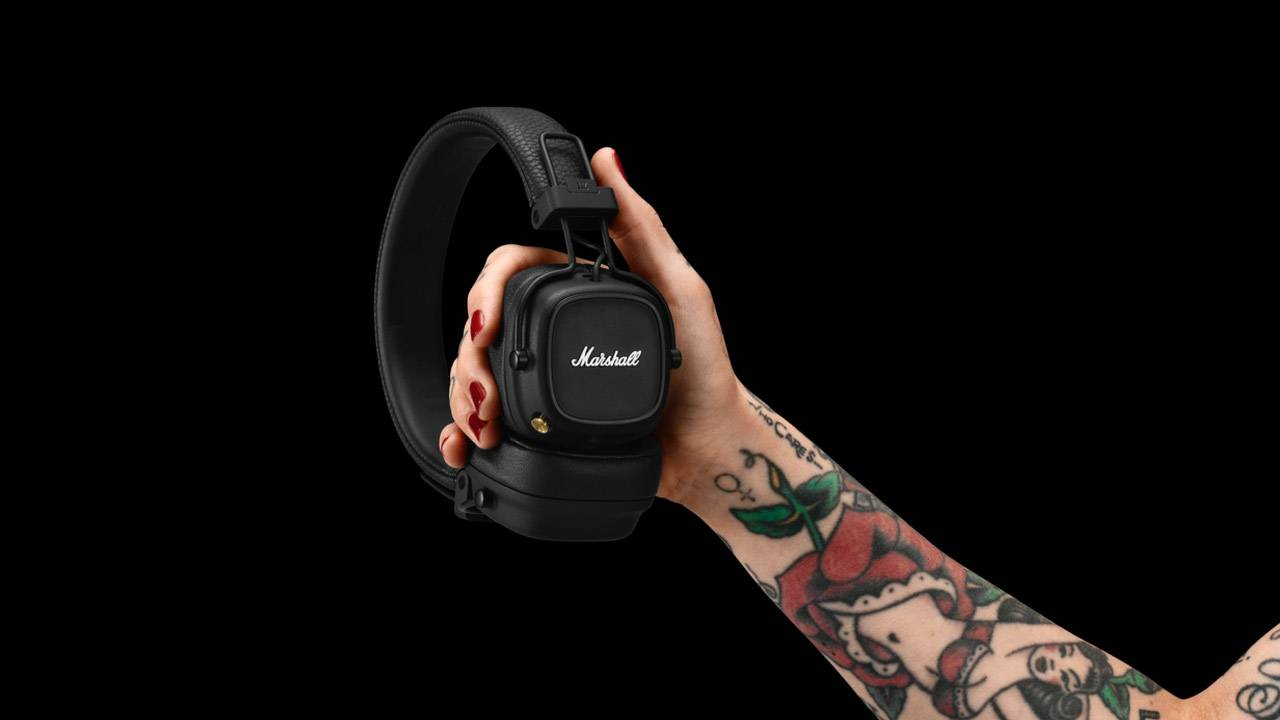 Marshall Major IV go wireless with 3-day battery