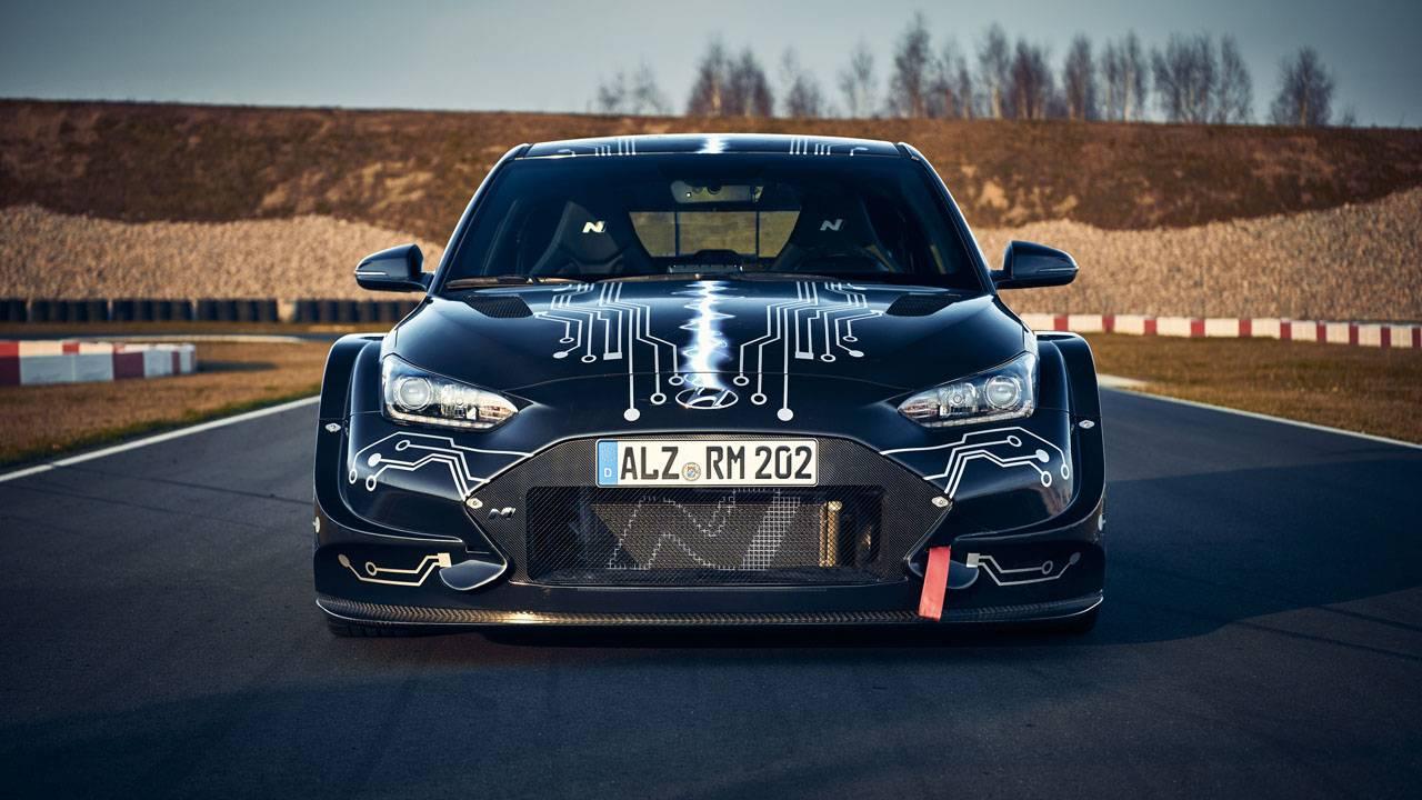 Hyundai RM20e is an electrified racing car hinting at next-gen N Performance