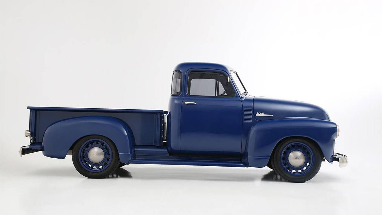 Icon Thriftmaster as an old Chevy truck with modern touches