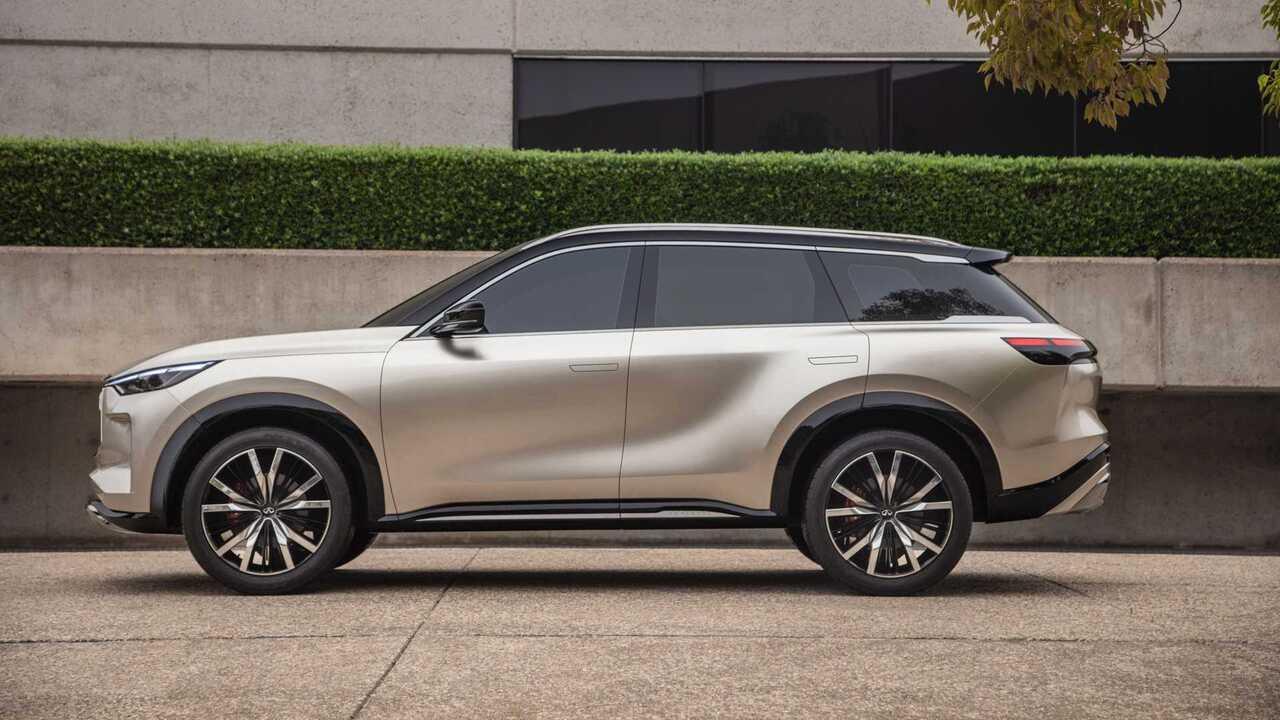 Infiniti QX60 Monograph showcases the brand's next-gen seven-seat SUV