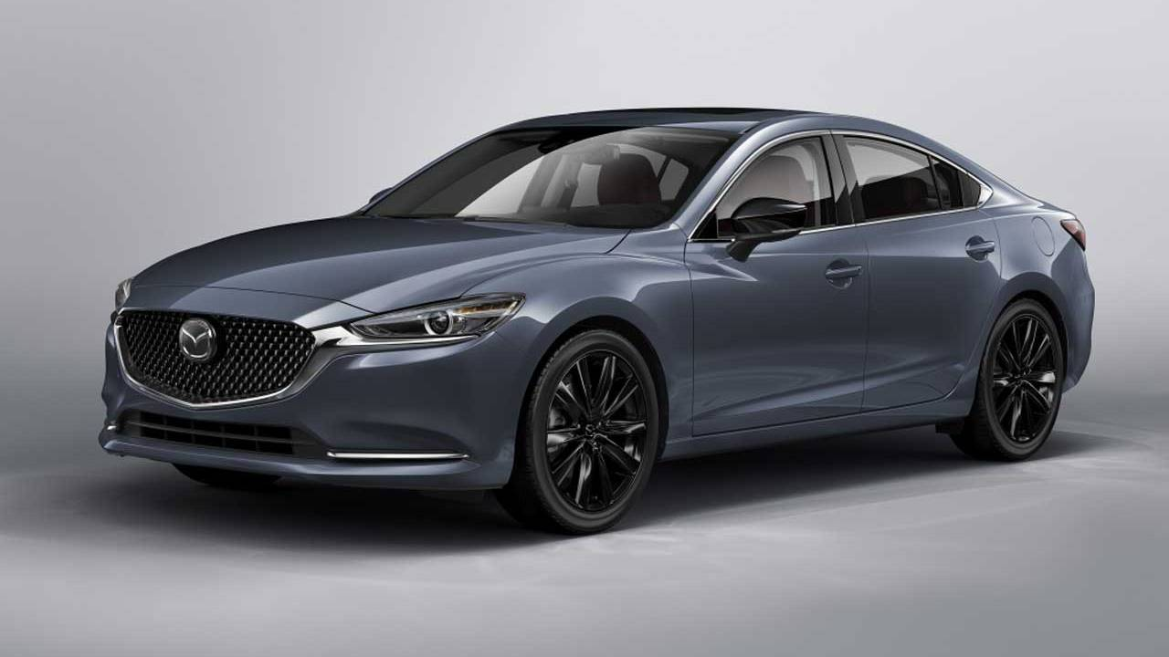 2021 Mazda6 adds Carbon Edition and arrives in dealerships this month