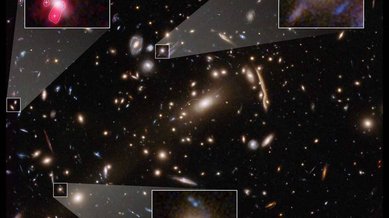 Hubble observations suggest a discrepancy in dark matter theories