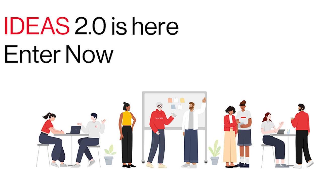 OnePlus IDEAS 2.0 to crowdsource OxygenOS' next big features