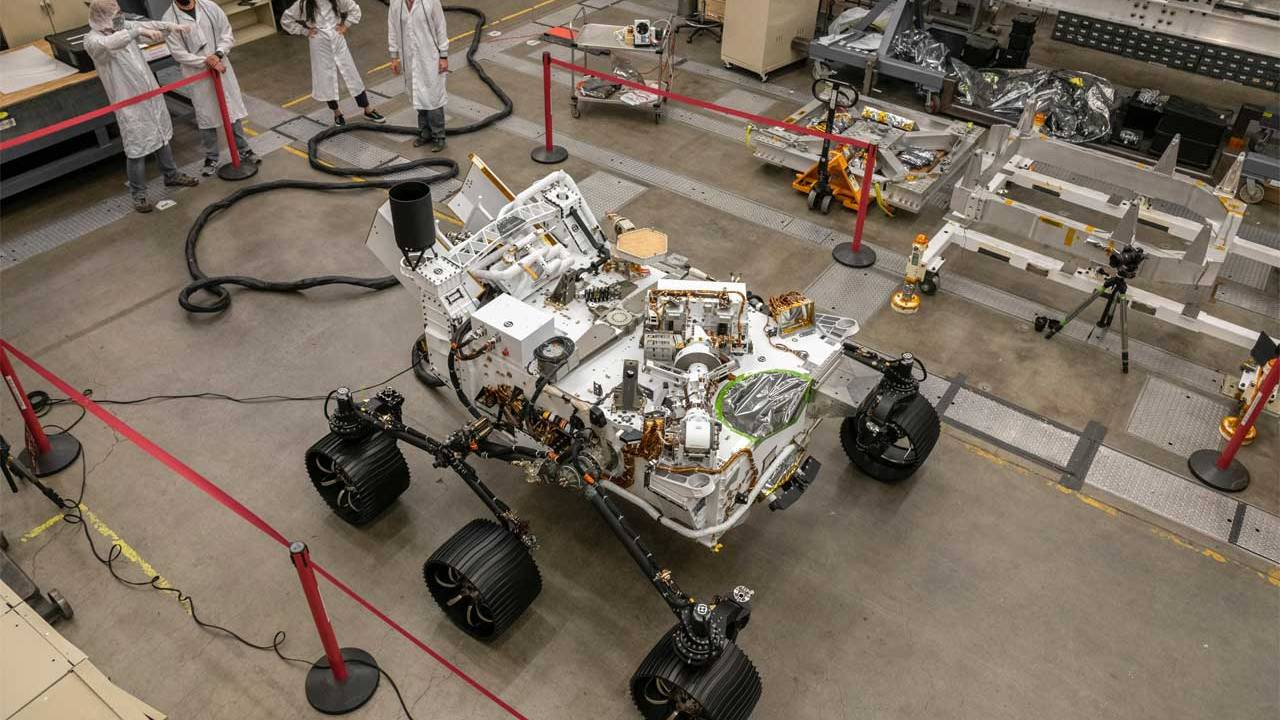 Perseverance Rover's earth-bound twin is complete