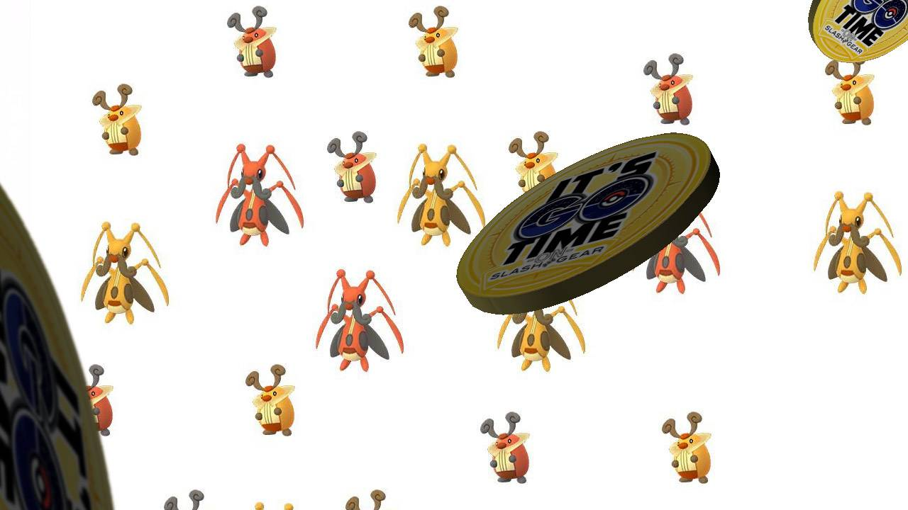 Shiny Pokemon GO insect goes red to gold