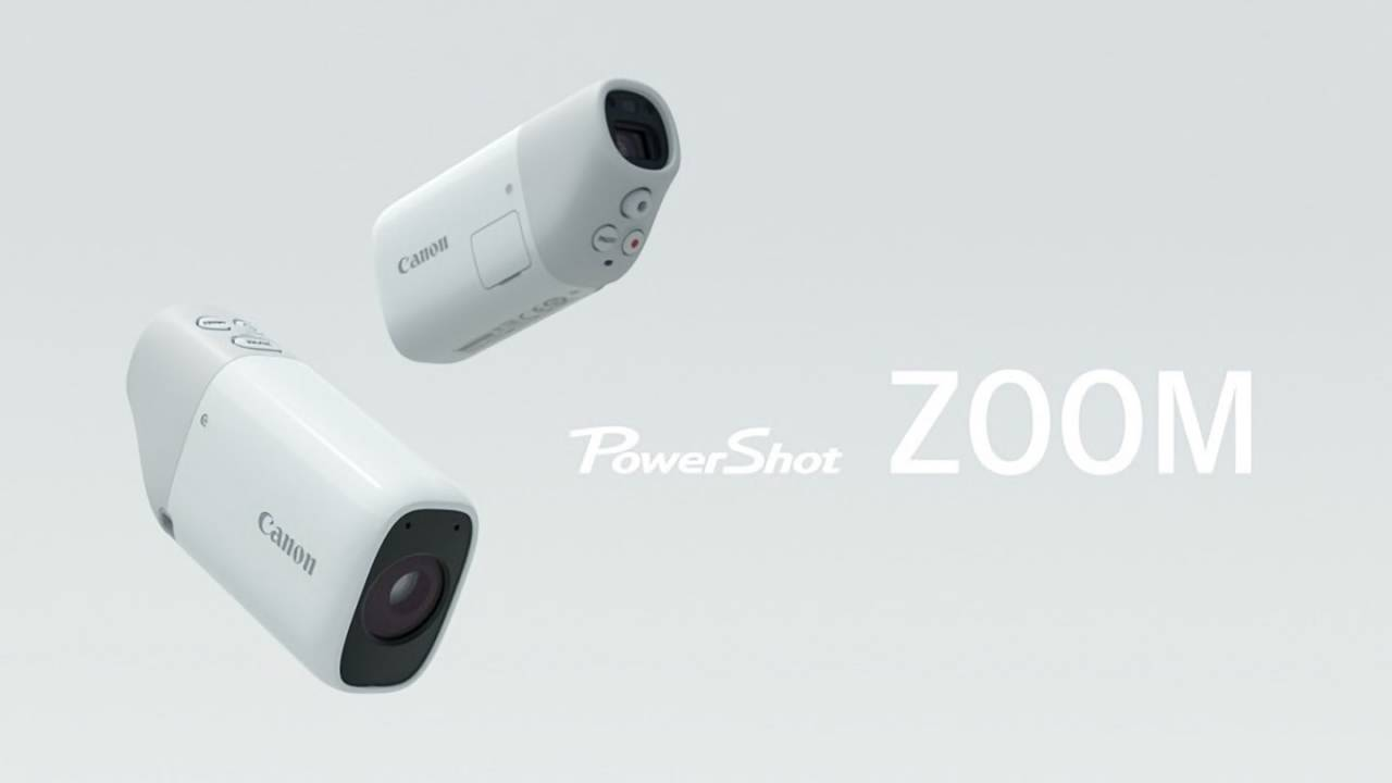 Canon is crowdfunding an unusual pocket-sized 'telescope' camera in Japan