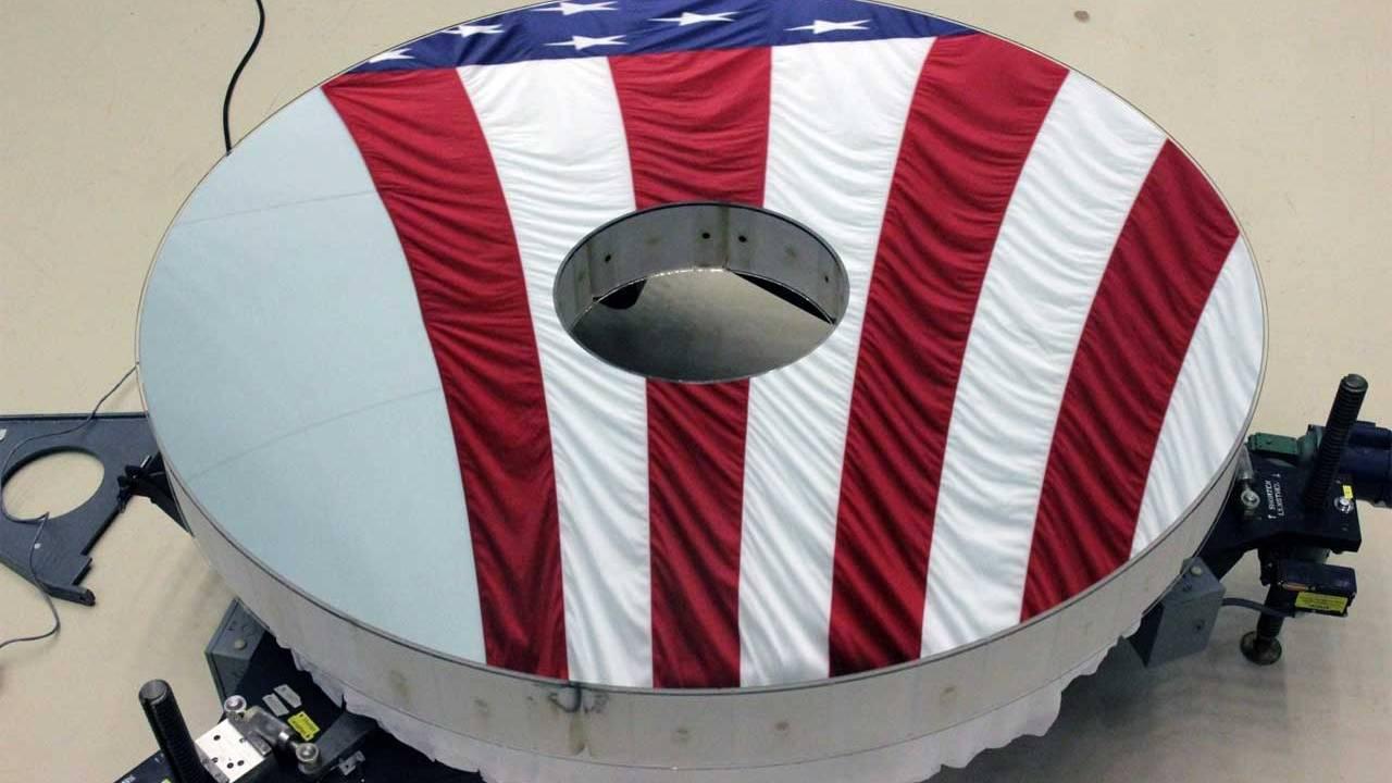 NASA completes Roman Space Telescope primary mirror