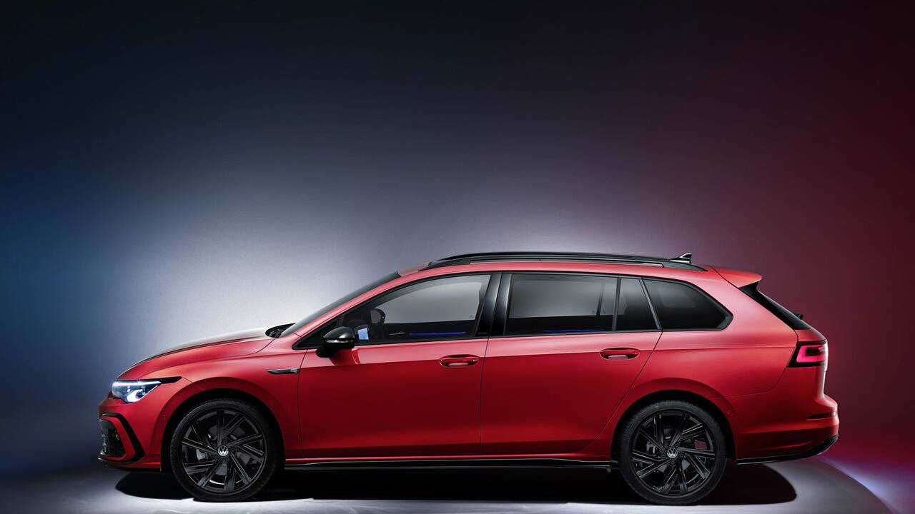 2021 Volkswagen Golf Variant and Alltrack debuts in Europe
