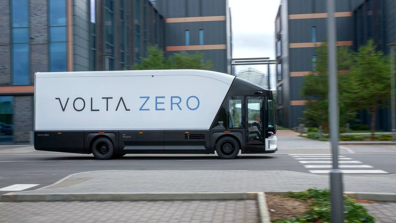 Meet Volta Zero, an electric cargo bus for city hauling