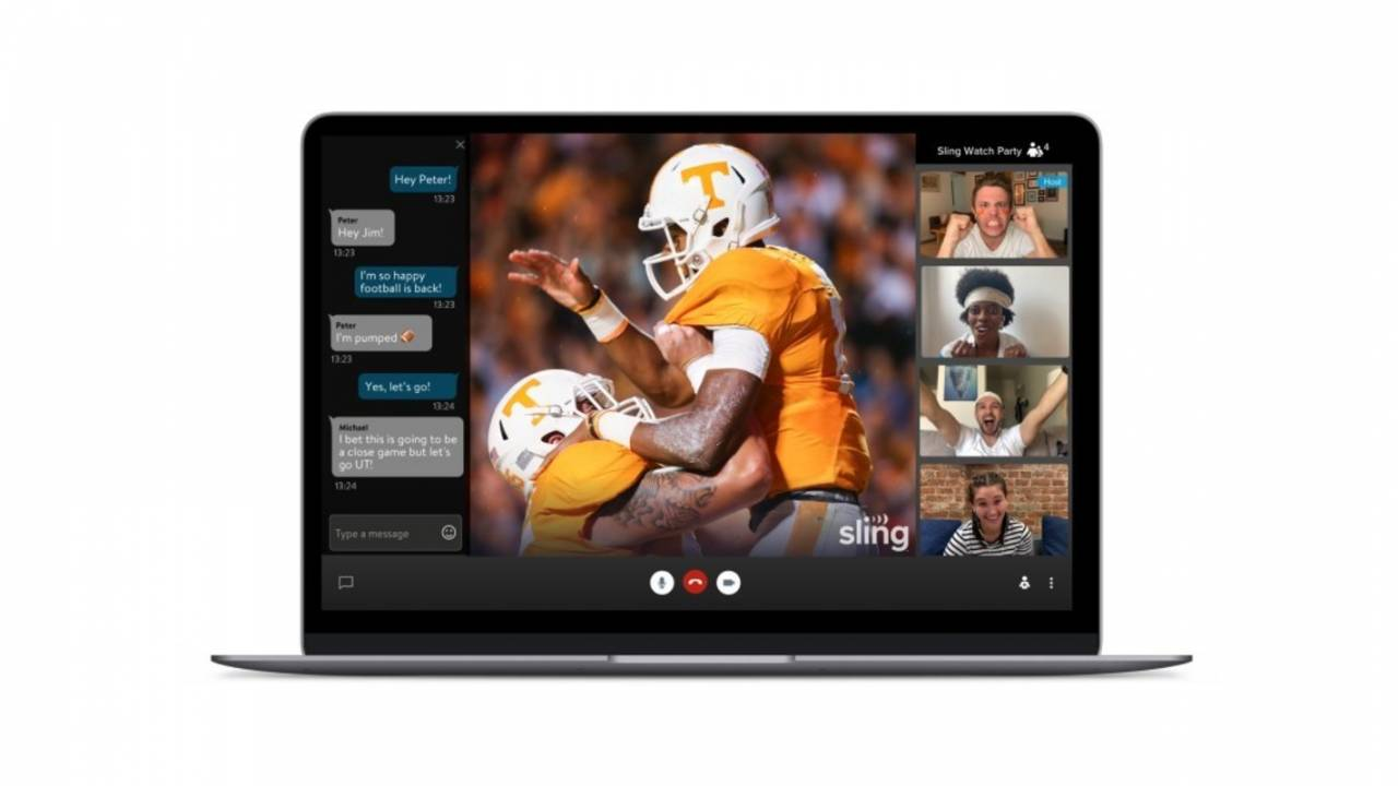 Sling TV launches watch together feature for live television