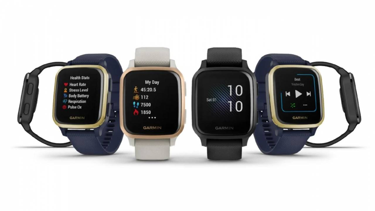 Garmin Venu Sq smartwatches pack GPS and phone-free music streaming