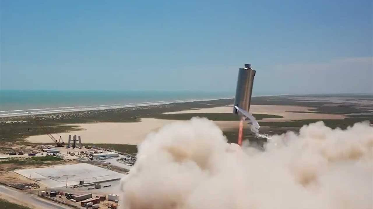 SpaceX conducts another successful Starship 150m Hop