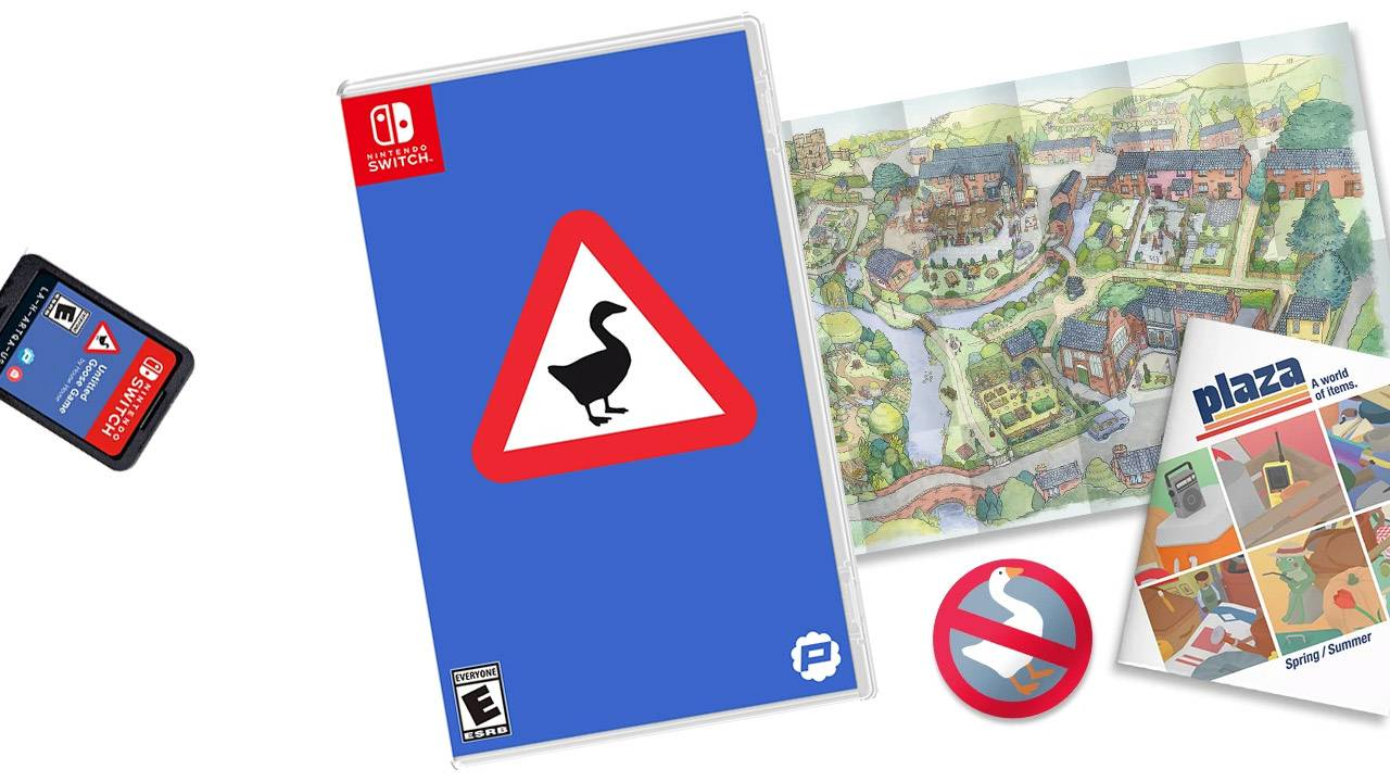 "Untitled Goose Game ""Lovely Edition"" includes Sugar-Based sticker"