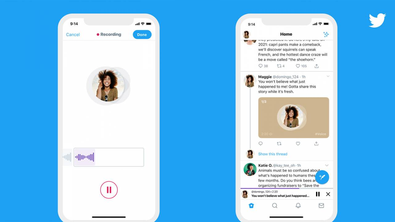 Twitter Voice Tweets on iOS gets wider rollout, transcriptions coming