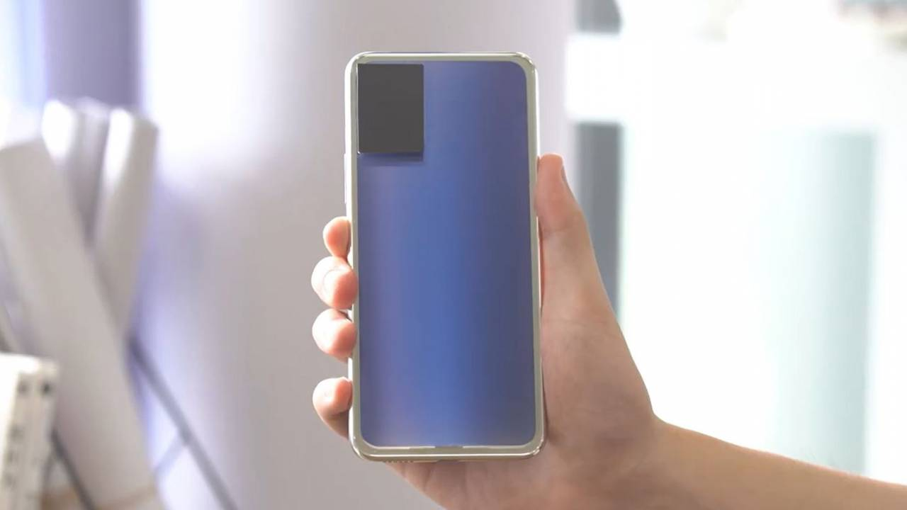 Vivo shows off phone prototype with unique color-changing glass back