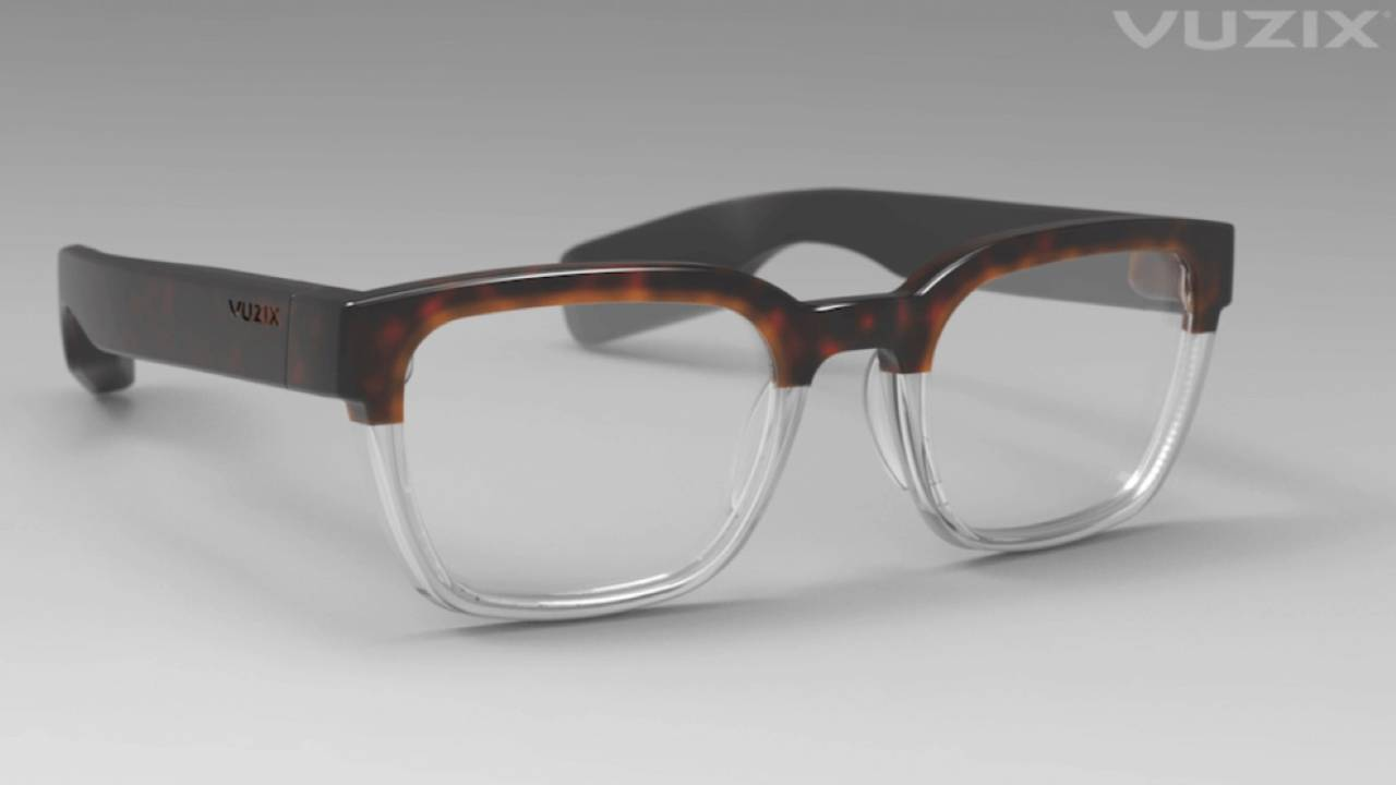 These new Vuzix Smart Glasses actually look like regular glasses