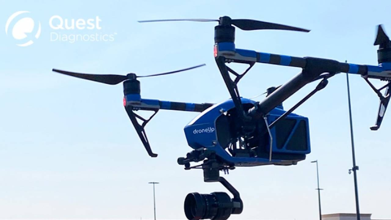Walmart is using drones to deliver COVID-19 tests in parts of the US