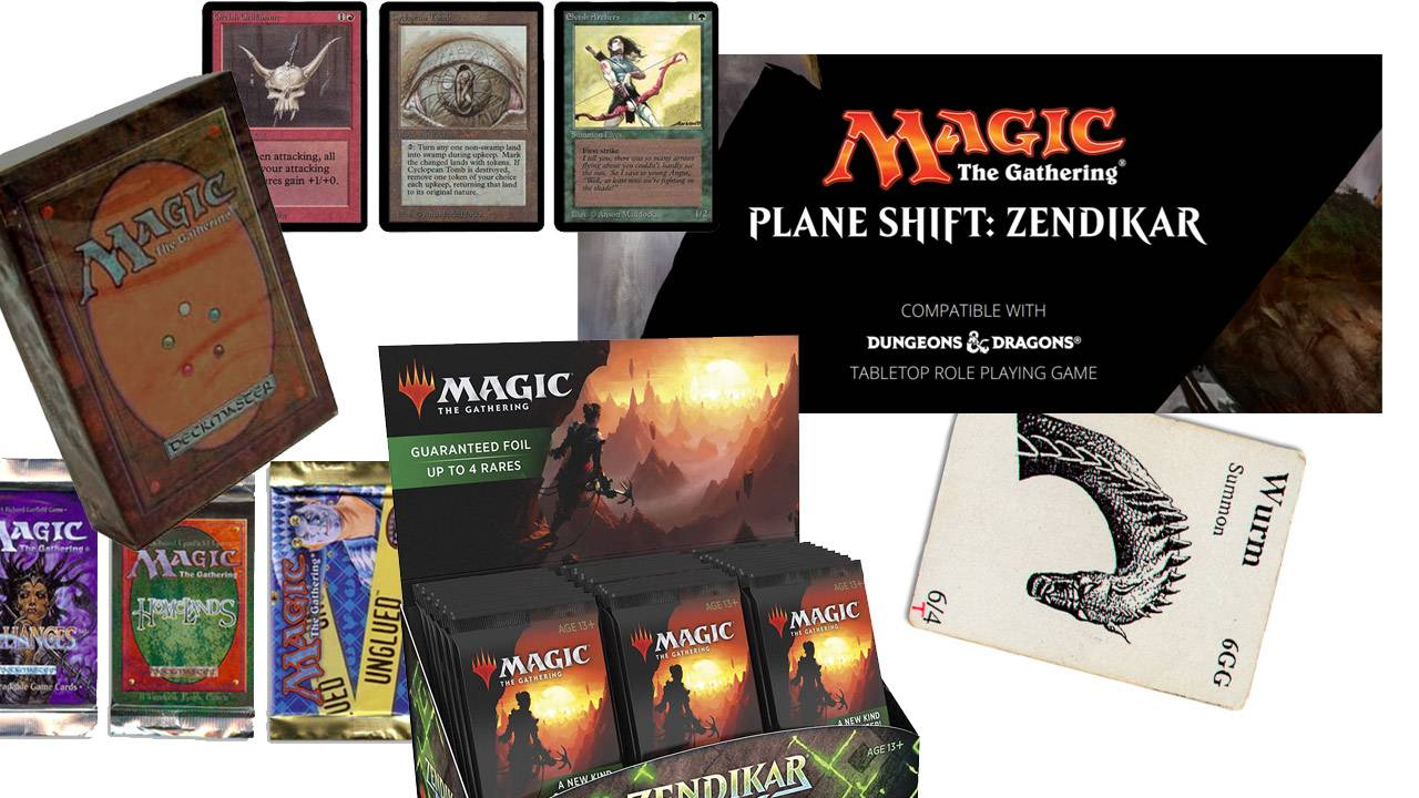 Dungeons & Dragons in Magic The Gathering card set 2021 and MTG in DnD 2016