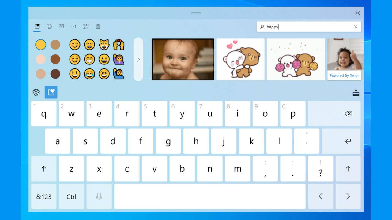 Windows 10 Preview 20206 focuses on input with Voice Typing, Emoji Search
