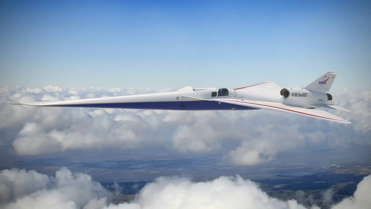 NASA's stealthy supersonic X-59 just got a schedule change