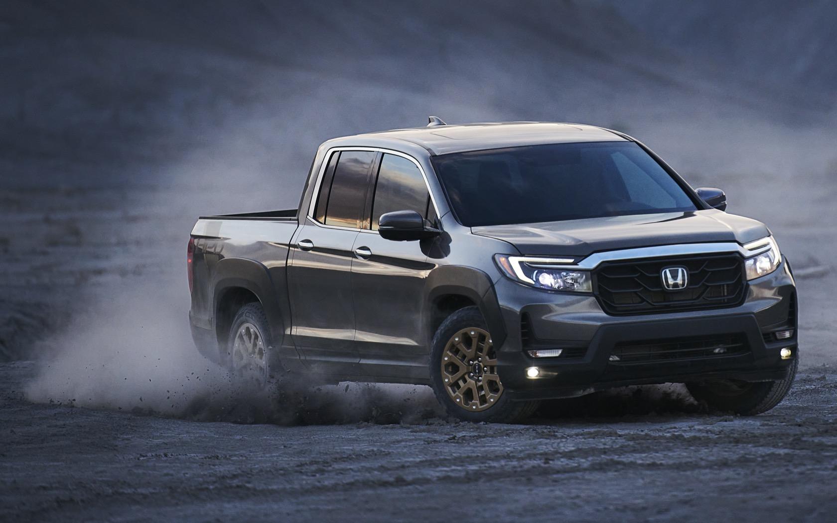 2021 honda ridgeline sees family-friendly pickup get a