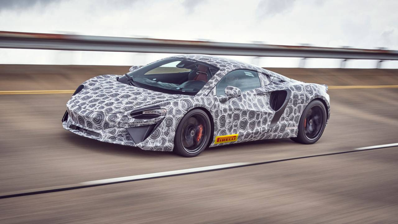 McLaren hybrid teaser promises best of both worlds