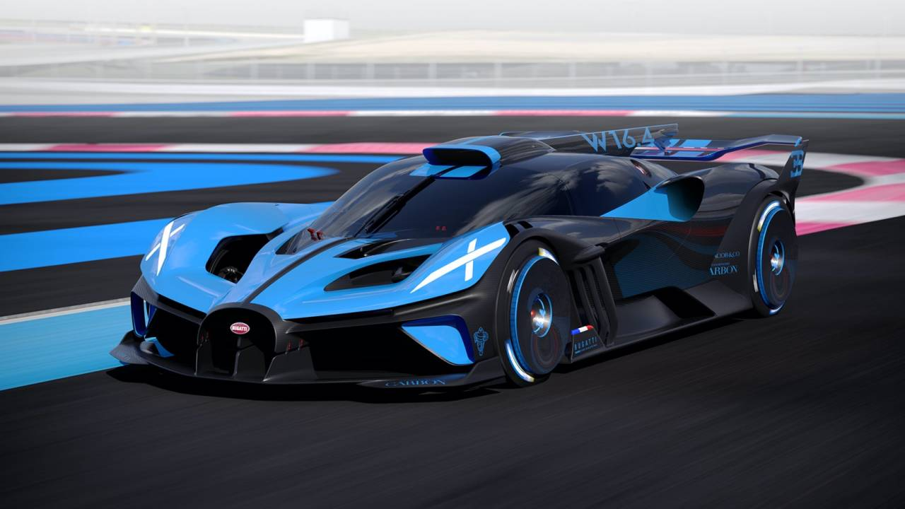 The outrageous Bugatti Bolide is a 311+ mph exercise in extreme dieting