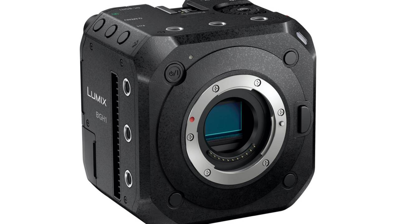 Unusual Panasonic LUMIX BGH1 camera wants to ride on your drone
