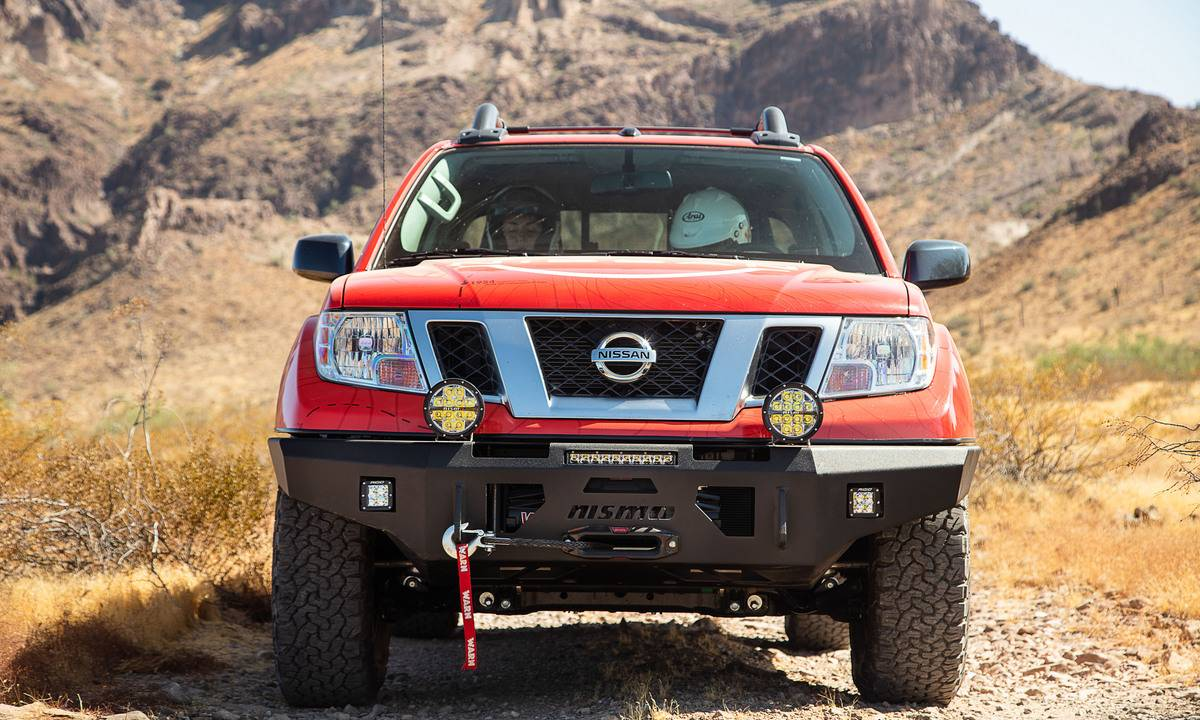 Nissan debuts NISMO performance parts for Frontier, Titan, and Xterra at Rebelle Rally