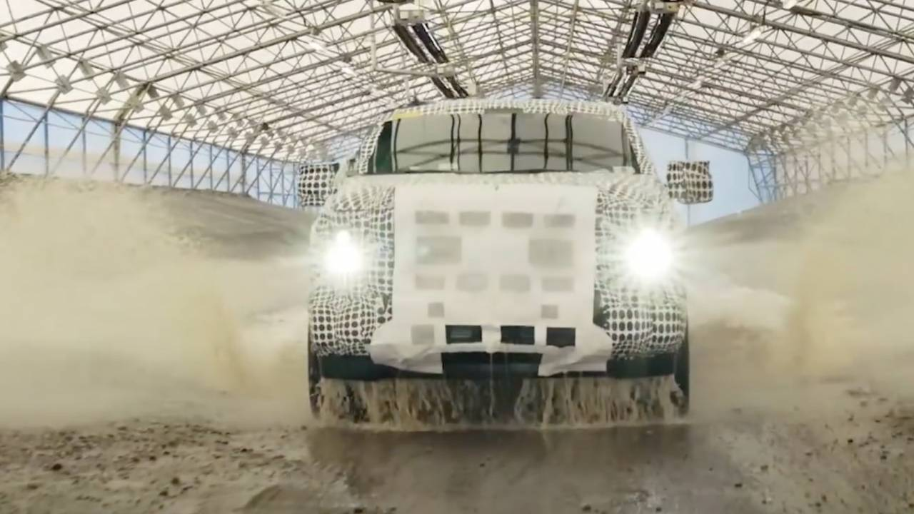 Watch Ford's 2021 F-150 PowerBoost Hybrid go through its unique torture testing