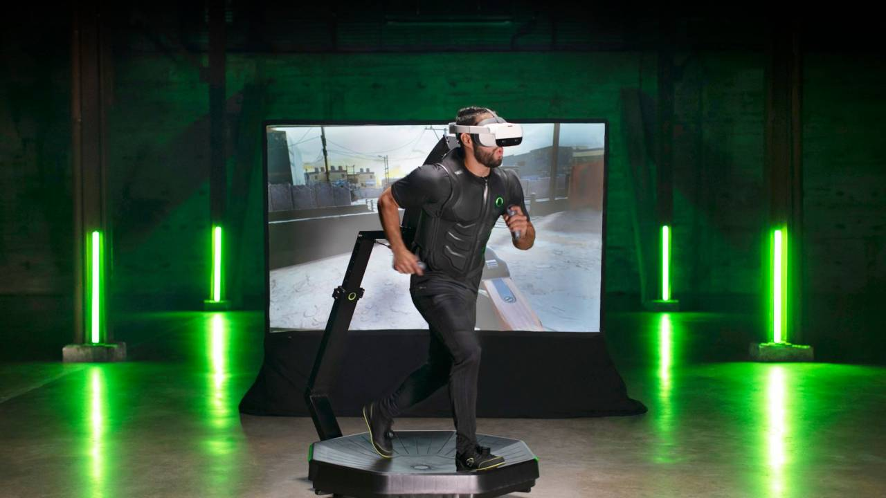 Virtuix Omni One is a 360-degree VR treadmill to bring the Holodeck home