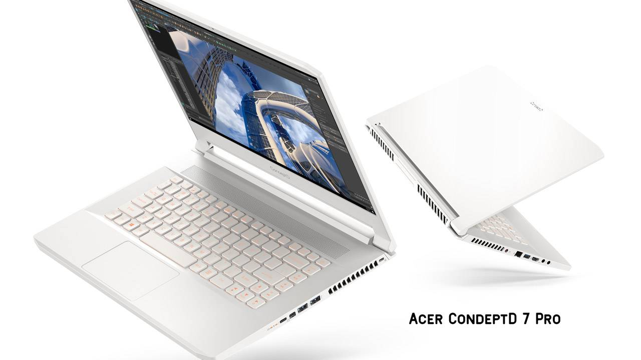 Acer ConceptD 7, 7 Pro stay classy while 300 desktop gets RTX 3070