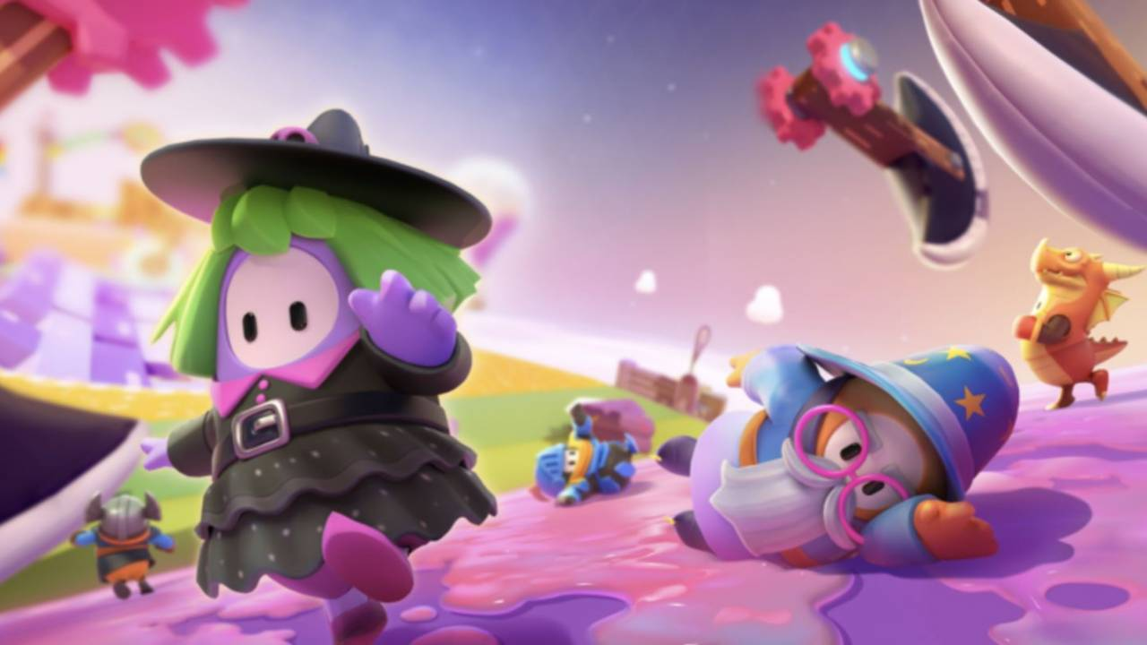Fall Guys Season 2 Knight Fever level revealed and it looks super hectic