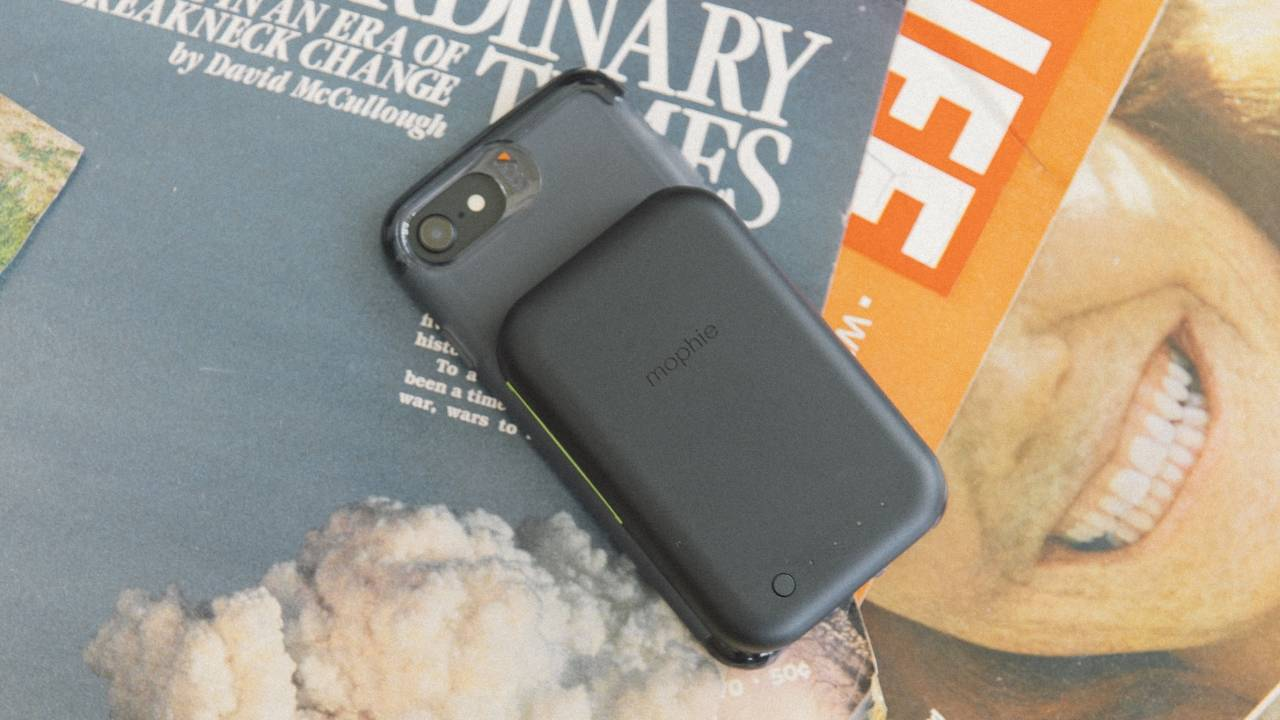 mophie juice pack connect slides a wireless charger behind your phone