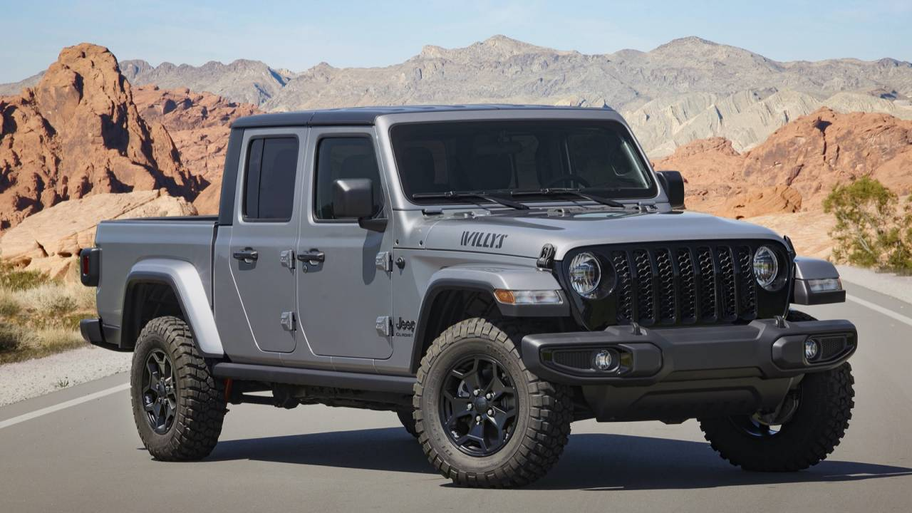 2021 Jeep Gladiator Willys pairs iconic name with off-road talent
