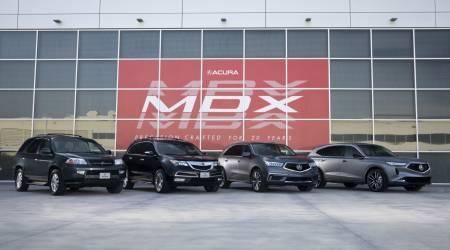 Acura MDX Prototype Gallery