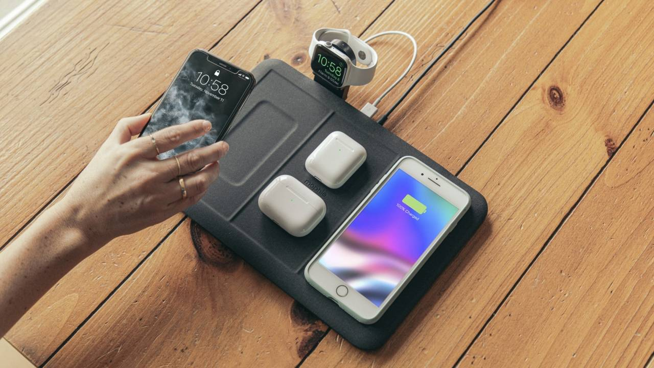 Mophie 4-in-1 wireless charging mat promises no device is left behind
