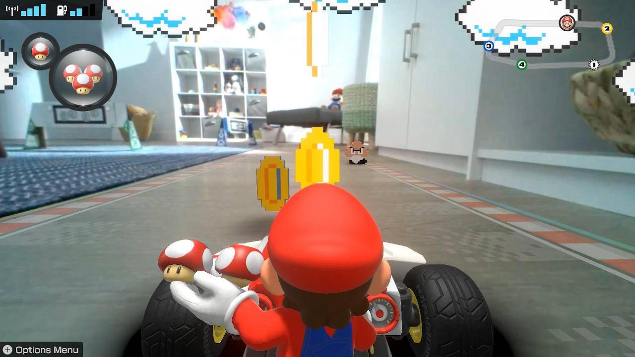 Mario Kart Live: Home Circuit trailer explains how the AR game works