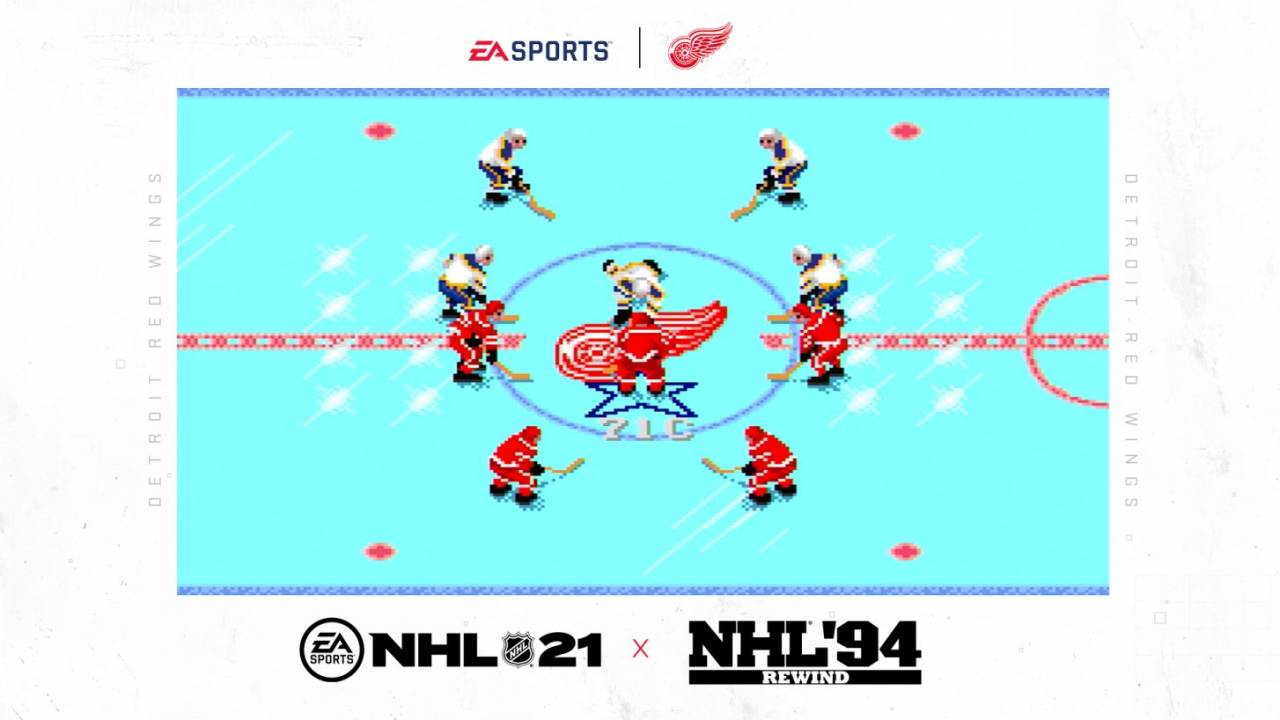 NHL 94 Rewind revives a classic to tempt your NHL 21 pre-order