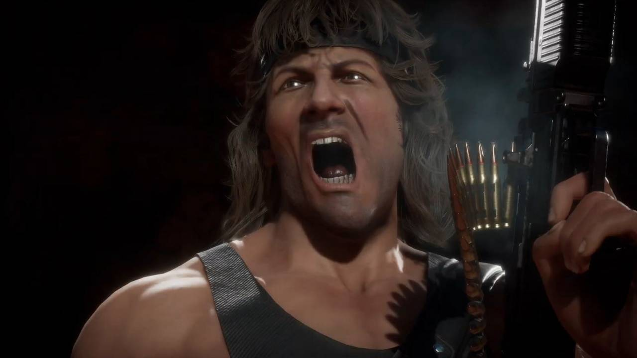 Rambo is armed to the teeth in Mortal Kombat 11 gameplay debut